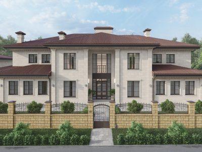 Дом в Румянцево